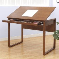 Portable Study Chair Crushed Velvet Bed Ponderosa Wooden Drafting Table By Studio Designs In Kids Desks