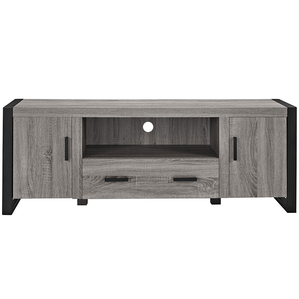 Reclaimed Wood TV Stand  60 Inches in TV Stands