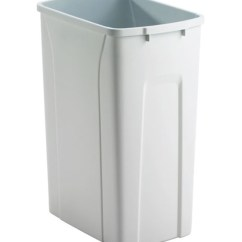 Tall Kitchen Bin Makeovers Replacement Plastic Waste - 35 Quart In Trash Cans