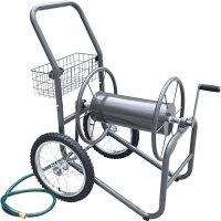 Industrial Grade Garden Hose Reel - 2 Wheeled Cart in ...