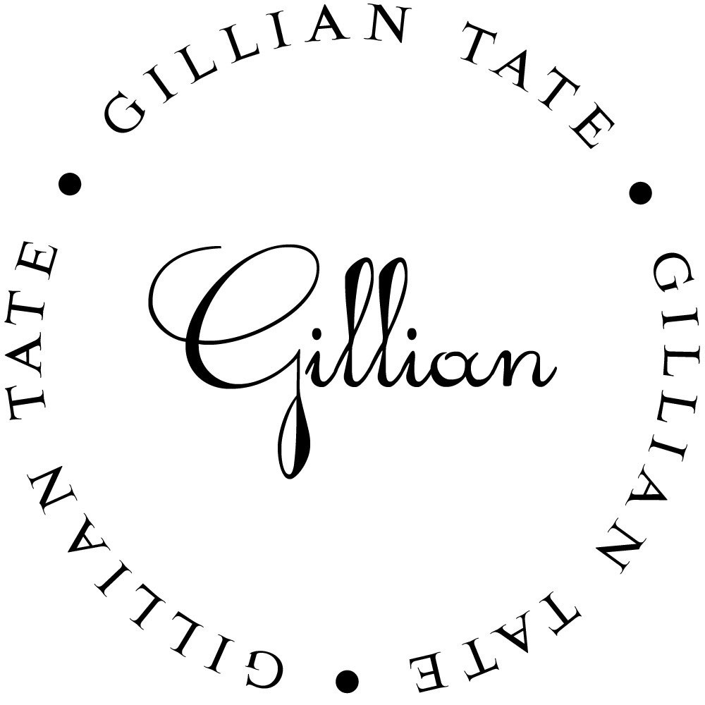 return address stamp gillian