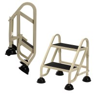 Rolling Step Ladder-2 Step in Step Stools
