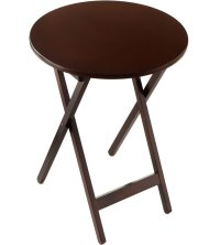 Round Folding Tray Tables (Set of 2) in TV Tray Tables
