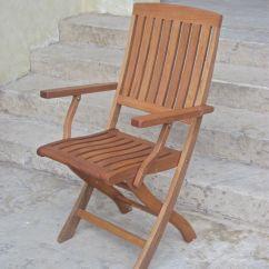 Folding Arm Chair Ultimate Beach Royal Tahiti Set Of 2 By International