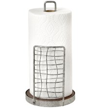 Rustic Paper Towel Holder in Paper Towel Holders
