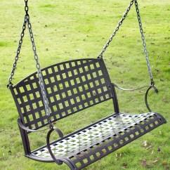 Steel Chair Jhula Mossy Oak Camping Santa Fe Iron Hanging Swing By International Caravan In Swings