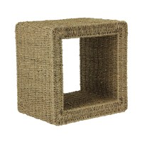 Seagrass Mid Size End Table by Household Essentials in ...