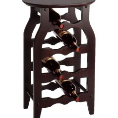 High Kitchen Table With Storage Recessed Led Lights For Side Wine Rack In Racks