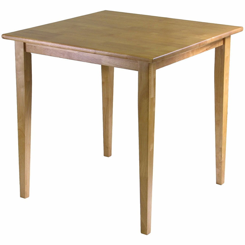 Square Wood Dining Table in Dining Tables