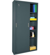 Steel Storage Cabinet - 72 Inch High in Storage Cabinets