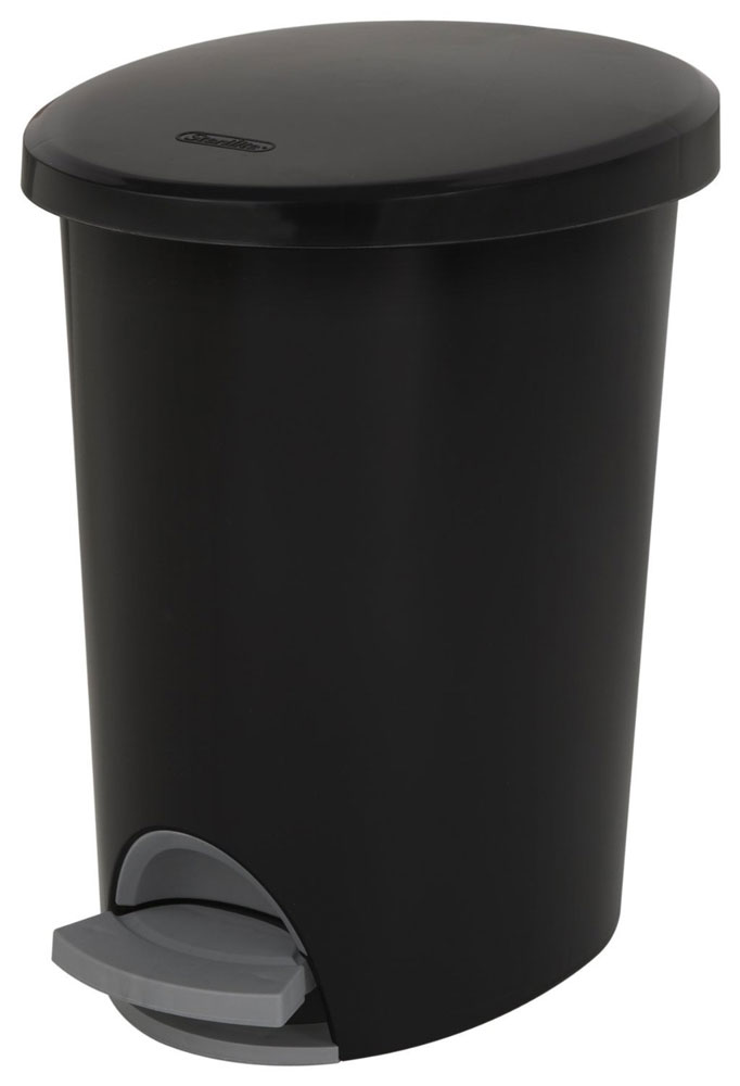 Step Trash Can 26 Gallon In Kitchen Trash Cans
