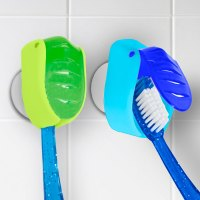 Suction Cup Toothbrush Holder (Set of 2) in Toothbrush Holders