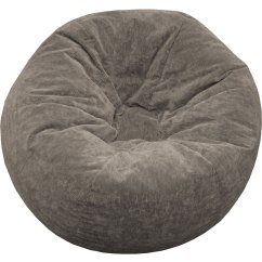 Fabric Living Room Chairs Coffee House La Jolla Ca Suede Bean Bag Chair - Medium In