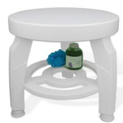 Shower Chair With Swivel Seat Portable Pedicure Chairs Stool In Tub Caddies And Accessories