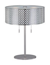 Table Lamp with Net Metal Shade - by Lite Source - LS ...