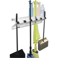 The Clincher Mop and Broom Holder in Broom and Mop Holders