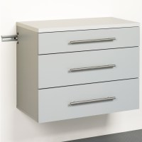Three Drawer Storage Cabinet in Storage Cabinets