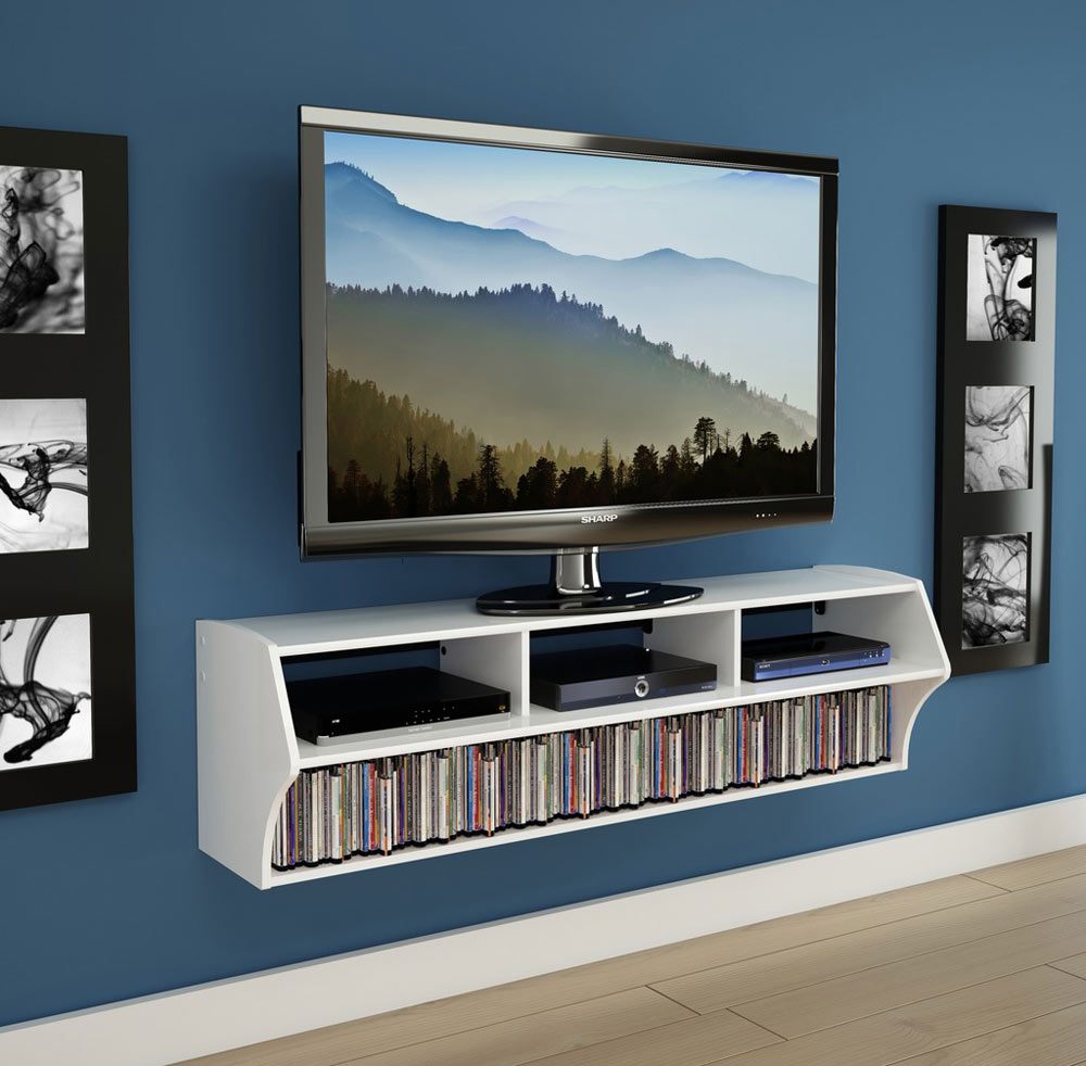 Wall Mounted TV Console In TV Stands