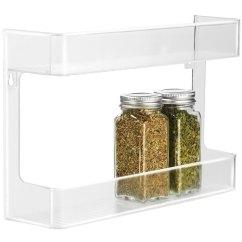 Kitchen Pantry Cupboard Cheap Island Ideas Two-tier Spice Rack In Racks