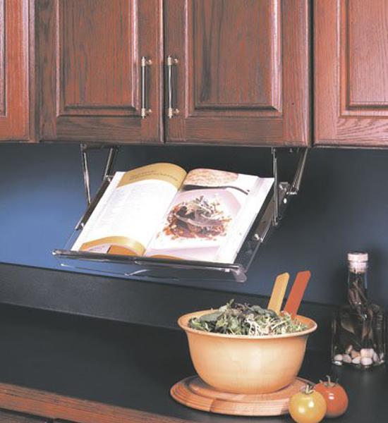 Under Cabinet Cookbook Holder in Cookbook Holders and Stands