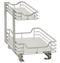 Under Sink Sliding Cabinet Organizer in Pull Out Baskets