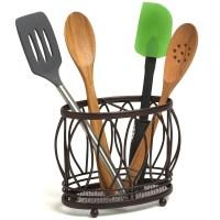 Utensil Holder - Leaf Design in Kitchen Utensil Holders
