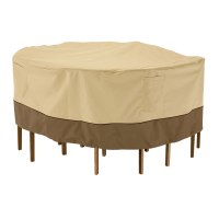 Patio Table Cover - Round Veranda in Patio Furniture Covers