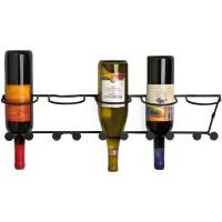 Wall-Mounted Wine Bottle Rack in Wine Racks