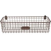 Wall Mounted Wire Basket - Vintage in Wire Baskets