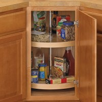 18 Inch Cabinet Lazy Susan - Wood - Full-Round in Cabinet ...
