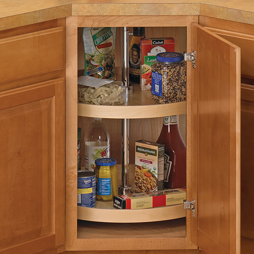 kitchen lazy susan aid convection oven 24 inch cabinet wood full round in susans image