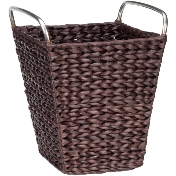 Wicker Waste Basket In Small Trash Cans