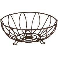 Wire Fruit Basket - Leaf in Fruit Baskets