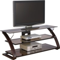 Wood and Glass TV Stand - Keira in TV Stands