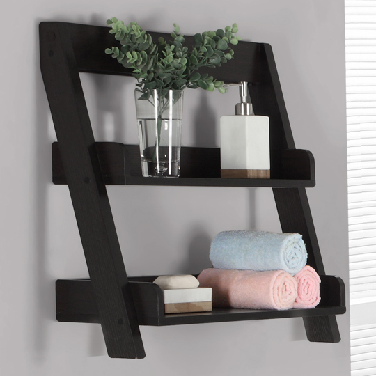 Wooden Bathroom Shelves In Bathroom Shelves