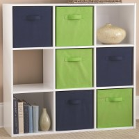 Wooden Cubby Storage Unit - Nine Compartments in Storage Cubes