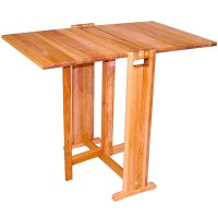 Wooden Folding Table in Dining Tables
