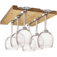 Wooden Wine Glass Rack in Wine Glass Racks