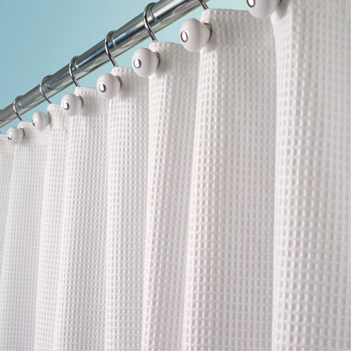 Fabric Shower Curtain Linen York In Shower Curtains And Rings