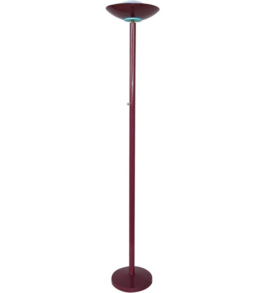 Halogen Torchiere Lamp in Floor Lamps