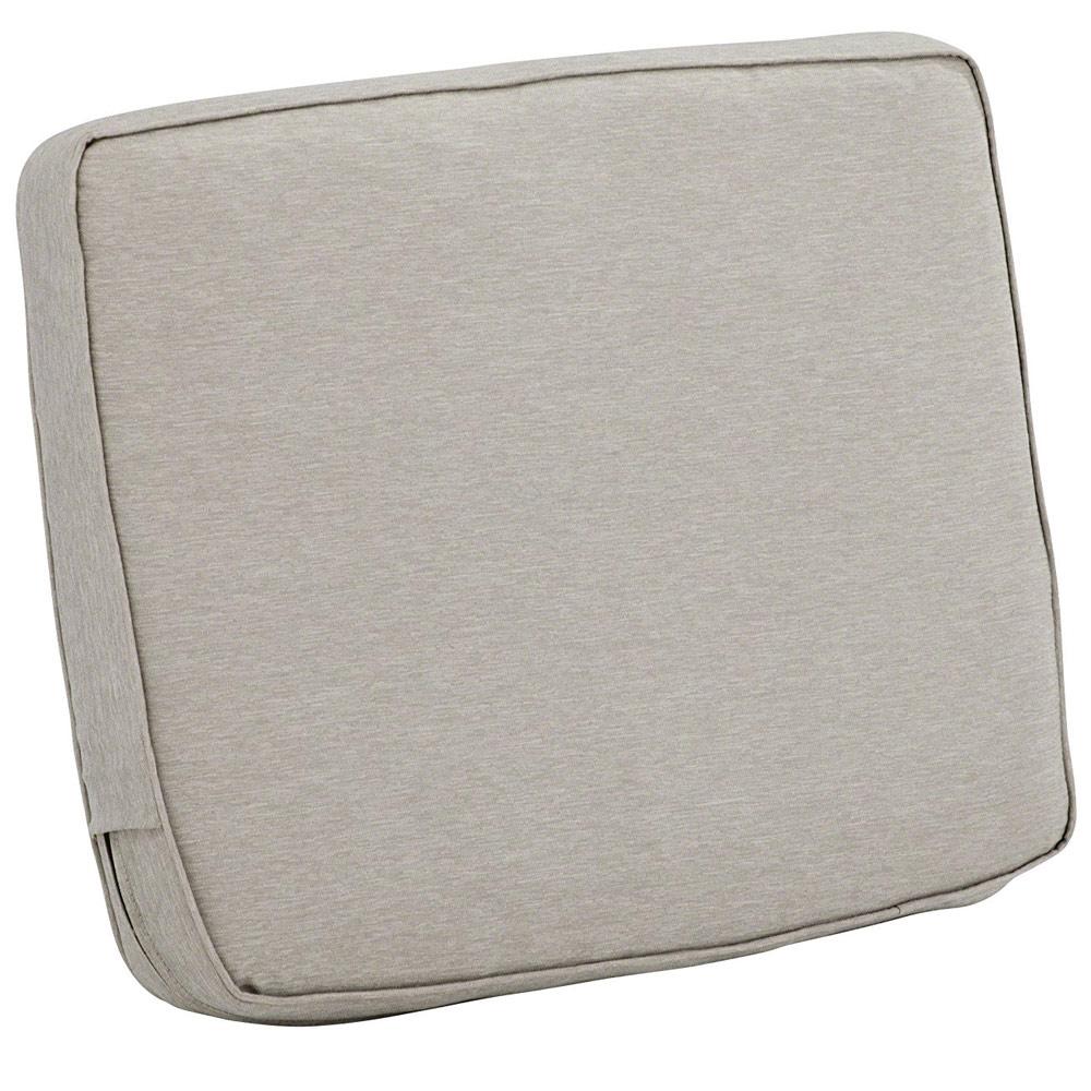 25 x 22 Patio Chair Back Cushion in Outdoor Cushions