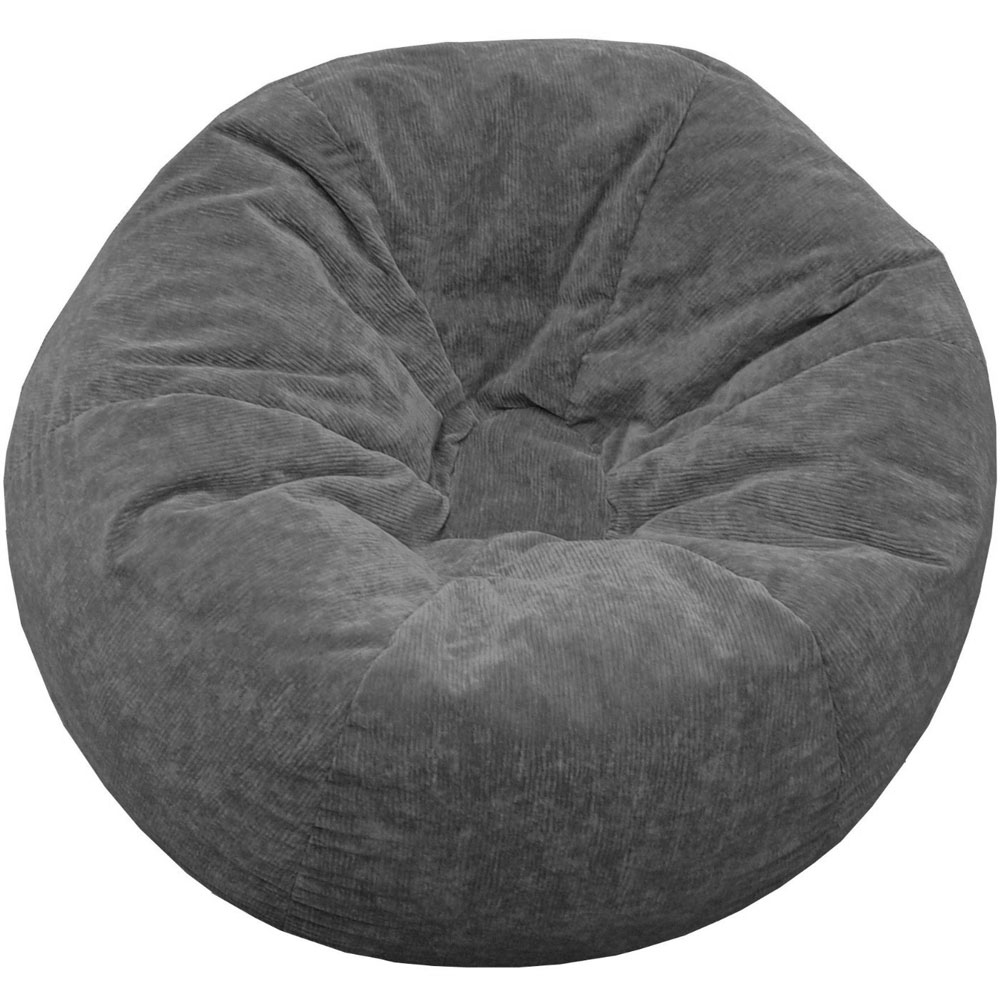corduroy bean bag chair glider plans adult - extra large in chairs