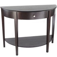 Bay Shore Half Round Console Table in Accent Tables