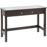 Bay Shore Sofa Table with Glass Insert in Accent Tables