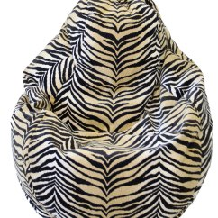 Cheetah Print Bean Bag Chair Milano Office Chairs Zimbabwe Lounger - Animal Prints In