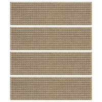 Carpet Stair Mats - Squares (Set of 4) in Entryway Rugs