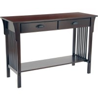 Mission Style Sofa Table Craftsman Mission Style Console ...