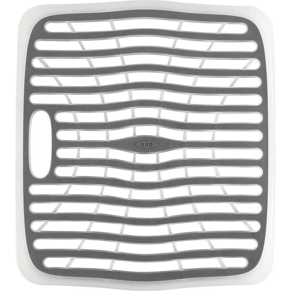 kitchen sink mats white round table and chairs oxo good grips mat in
