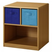 Kids Nightstand with Baskets by 4D Concepts in Storage Cubes