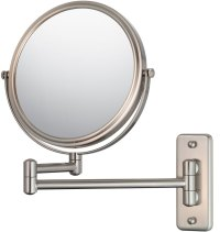 Wall Mounted Makeup Mirror - Double-Arm in Wall Mirrors